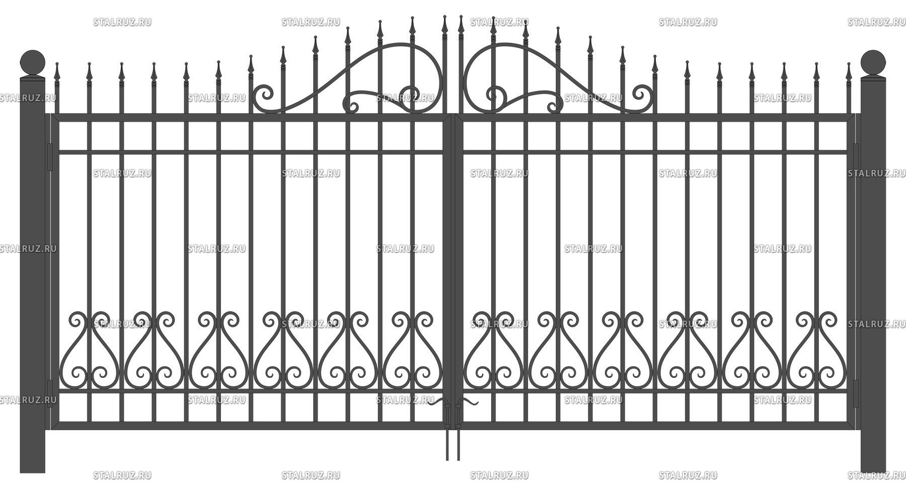 Купить в москве сварные распашные ворота саме loke для ворот в тольятти