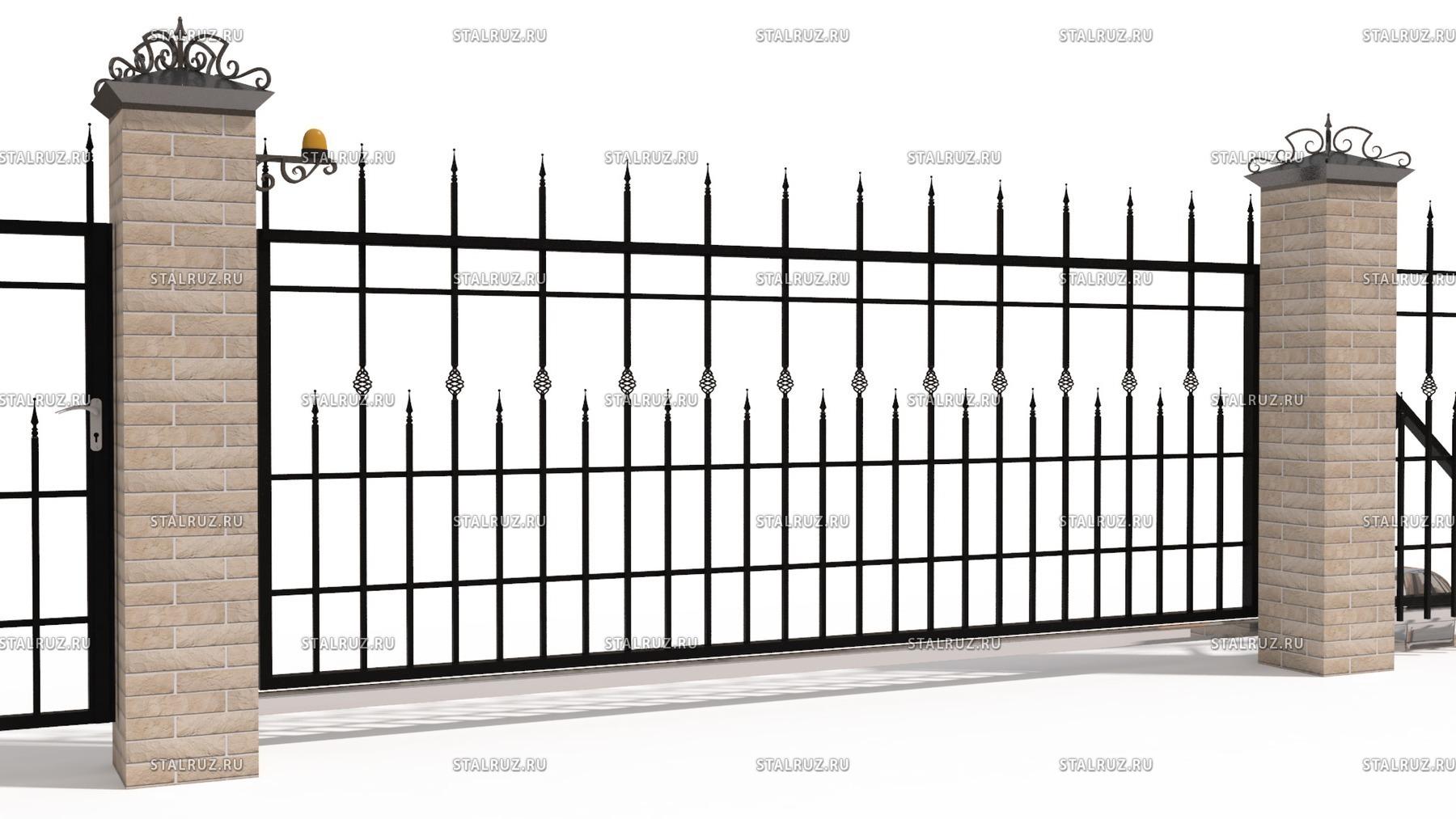 Сварные откатные автоматические ворота автоматические ворота в павлодар