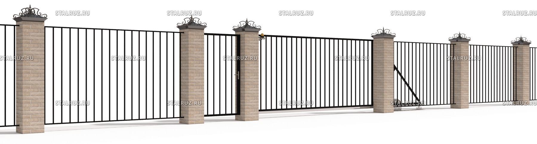 откатные ворота латвия